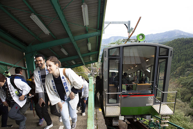 The Oyama Cable Car